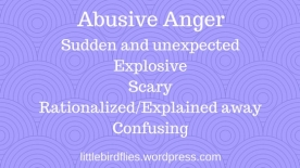 Abusive Anger