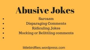 Abusive Jokes